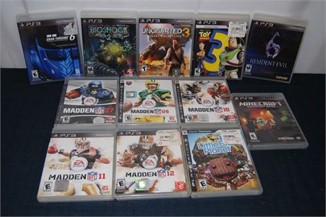 PlayStation Game Lot (500)
