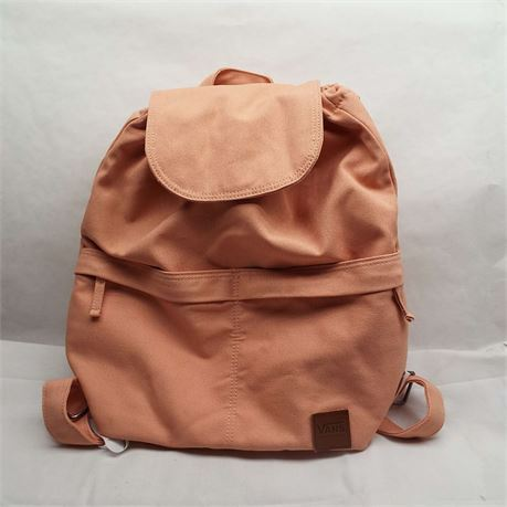 VANS Peach NWT Draw String Backpack