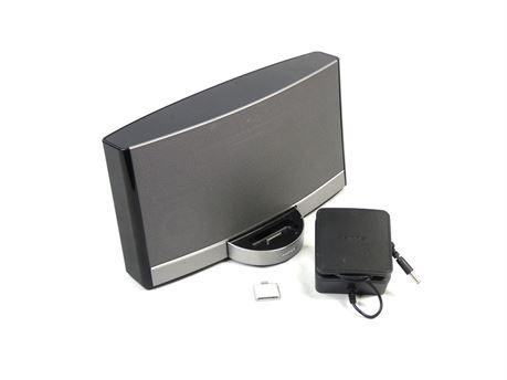 Bose SoundDock Portable Digital Music System N123 w/AC Adapter + Battery