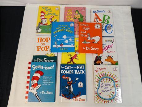 Dr. Seuss Books 11 count (500)