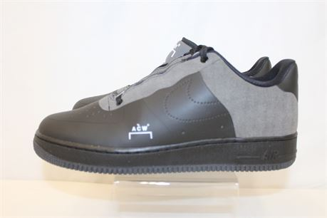 Nike Air Force 1 ACW Gray Black Shoes Sneakers Sz 11