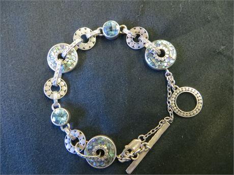 Lori Bonn Signed 925 bracelet