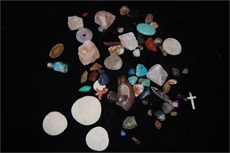 Natural Stone lot 1.5lbs (500)