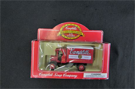 Campbells Soup Company 125 Anniversary Diecase Truck