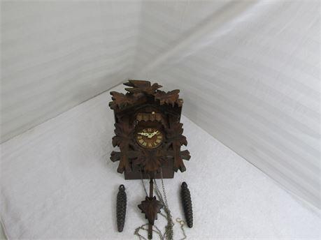 German Coo-Coo Clock with Bird on top.
