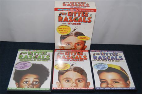 The Little Rascals in Color DVD