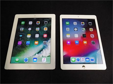 Apple iPad Air + Apple iPad 4th Gen; 2 Pieces