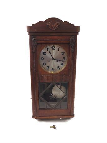 Vintage Junghans Germany Wall Clock (670)