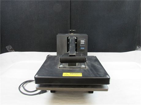 T-Shirt Press and Digital Sublimation Machine 15 x 15 #MM497 (650)