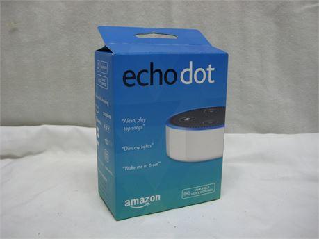 Amazon Echo Dot 2nd Generation Alexa Bluetooth Smart Speaker