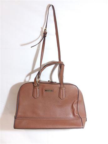 "Calvin Klein Brown Leather Bag 14'X10""X5"""