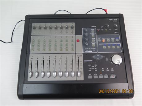 Tascam FW-1082 8-Channel Firewire Audio Interface MIDI Control Surface (670)