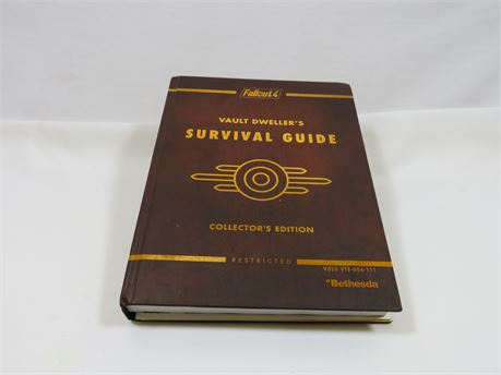 Collector's Edition Fall Out 4 Survival Guide