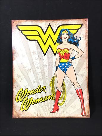 Wonder Woman 12X16 Medal Poster