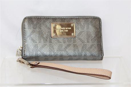 Michael Kors Gray Wallet