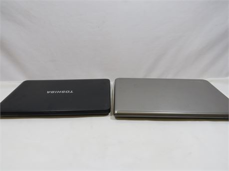 2 Toshiba Laptops For Parts Or Repair
