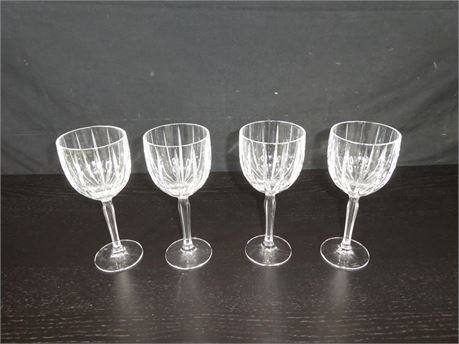 MARQUIS BY WATERFORD  WINE / WATER GLASSES (SET OF 4)