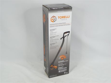 """Torellil Tools 9"""" Electric String Trimmer INV00411 NEW SEALED!"""