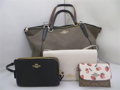 Coach Lot 4 items