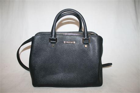 Michael Kors Black Cross Body Bag
