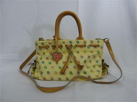 Dooney & Bourke Cross-Body Top Handle Bag Purse