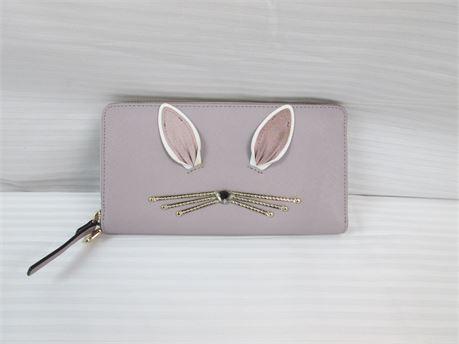 Kate Spade Wallet Lavender Bunny