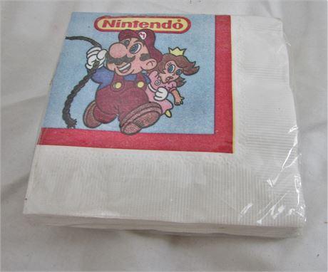 Mario+Peach Napkins