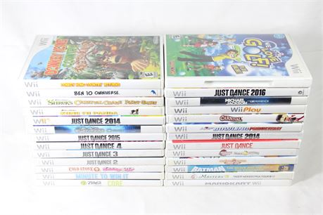 26 Wii Video Games