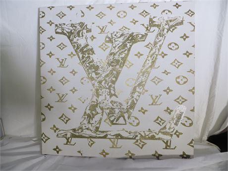 Louis Vuitton Monogram Canvas Painting, #1