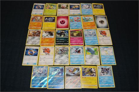 29 Pokemon Cards (500)