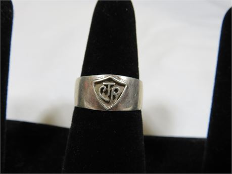 .925 Ring Size 8 (Tested)