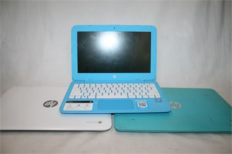 2x Hp Chromebooks & Hp Stream Laptop