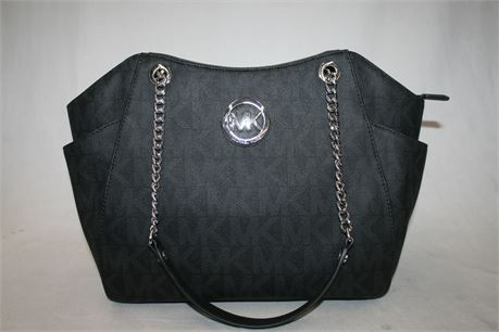 Michael Kors Black Monogram Handbag