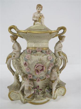 Antique Porceline Vase (230-LV26VV)