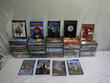 Huge Lot Of 82 Brand New DVD Movies/Shows