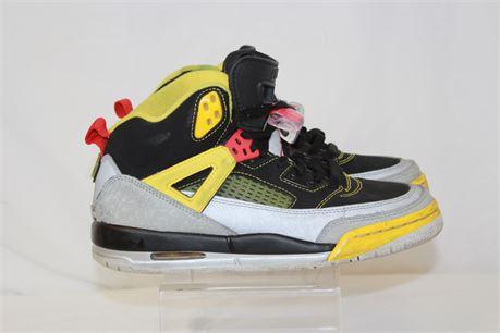 Nike Jordan Spiz'Ike GS Black Red Yellow Youth Size 6y