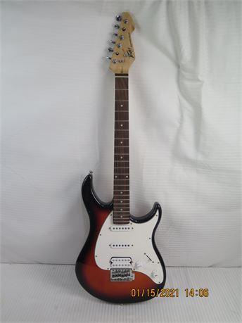 Peavey EXP Raptor Plus Sunburst Electric Guitar - Needs Repairs (670)