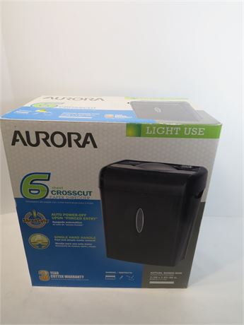 Aurora Paper Shredder (230-LVOO14)