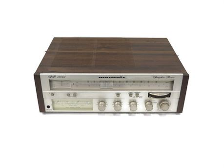 Vintage 1980's Marantz SR2000 Stereophonic Receiver (670)