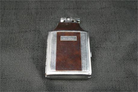 Ronson Mastercase Art Deco Lighter / Cigarette Case Combo