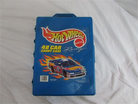 1997 Hot Wheels Carrying Case 48 Hot Wheels Carrying Case
