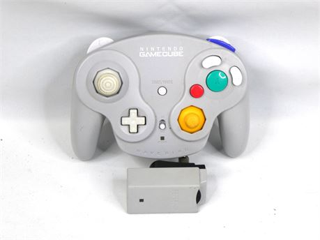 Nintendo Gamecube Wavebird Controller and Receiver DOL-004 |Working|