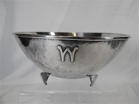 Sterling Silver Bowl From Kalo Shops Hand Hammered 576 grams (270ris2)