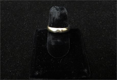 14kt Gold Band Ring