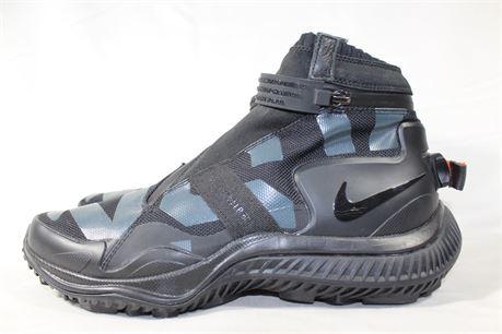 Nike NSW Black Gaiter Boot, Size M 9