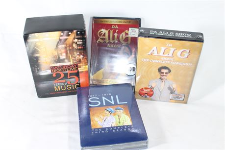 Comedy DVD Collection, Lot of 4, Factory Sealed, SNL, Ali G Show