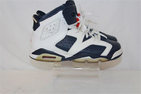 Nike Jordan 6 Retro Olympic 2012 Sneakers Shoes Youth Size 7y