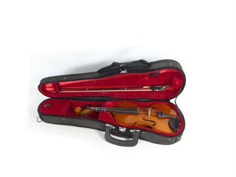 Samuel Eastman Model VL80 1/4 Violin w Bow & Case
