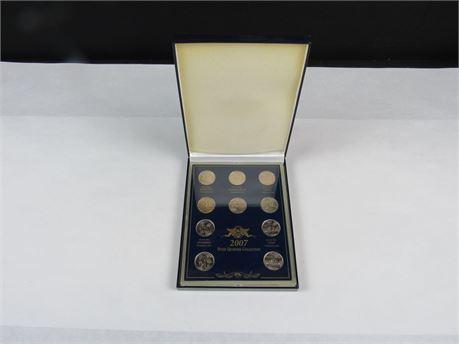 2007  State Quarter Collection Denver Mint (650)