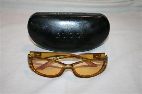GUCCI Womens Sunglasses 120 GG 2456/S K01